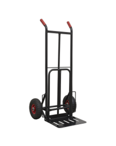 Sealey Heavy-Duty Sack Truck with PU Tyres 300kg Capacity