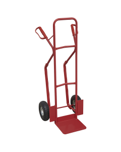 Sealey Sack Truck with Pneumatic Tyres 300kg Capacity CST999