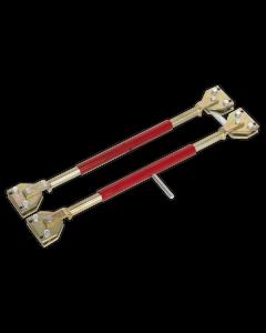 Sealey Door Restraining Bars Pack of 2