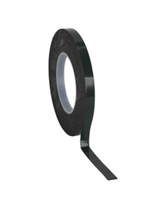 Sealey Double-Sided Adhesive Foam Tape 12mm x 10m Green Backing