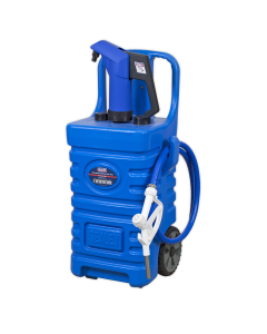 Sealey Mobile Dispensing Tank 55L with AdBlue® Pump - Blue