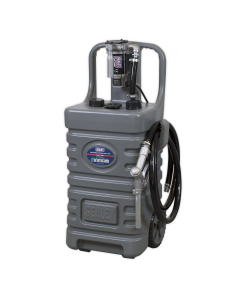 Sealey Mobile Dispensing Tank 55L with Diesel Pump - Grey