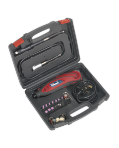 Sealey Multipurpose Rotary Tool & Engraver Kit 40pc 230V