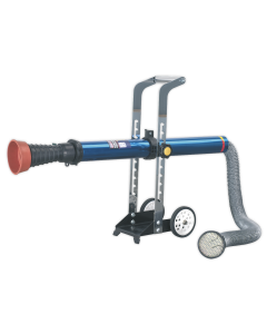 Sealey Exhaust Fume Extractor with 3m Ducting