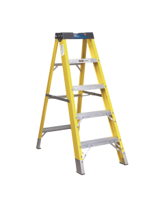 Sealey Fibreglass Step Ladder 4-Tread EN 131