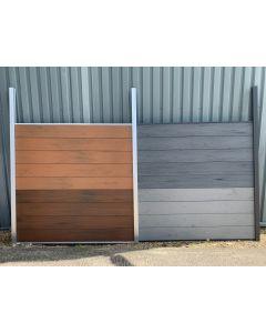 AB Aluminium Fencing Post Black 68mm x 2400mm