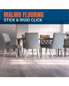 Malmo Stick and Rigid Click Flooring