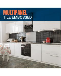 Multipanel Tile Embossed Panels