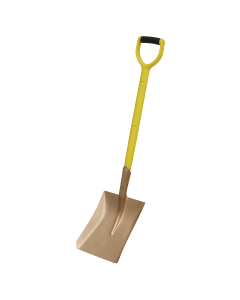 Sealey Square Shovel 240 x 418 x 990mm Non-Sparking