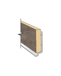 Fibo Kb Base Aluminium Profile 2.4M Long Kitichen Profiles
