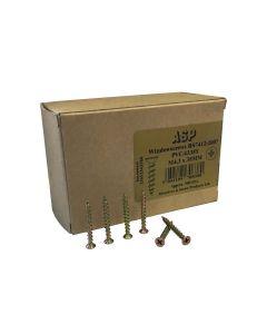 Box of 500 - PVCu Section Screws 4.3mm x 38mm