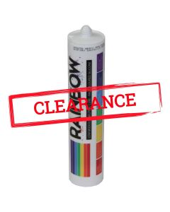 Rainbow RAL Coloured Silicones Clearance
