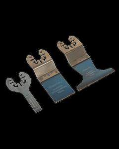 Sealey Multi-Tool Universal Cutting Blade Set 3pc