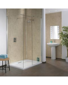 Splashpanel Shower Wall Panels - Sand Marble