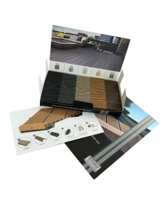 Storm Triton Composite Decking Presentation Pack All Colours & Brochure