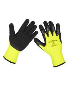 Sealey Thermal Super Grip Gloves - Pack of 6 Pairs