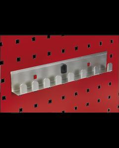 "Sealey Socket Holder 270mm - Capacity 8 x 1/2""Sq Drive"