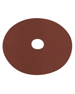 Sealey Fibre Backed Disc Ø125mm - 100Grit Pack of 25