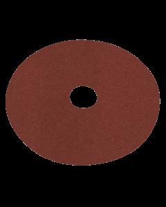 Sealey Fibre Backed Disc Ø125mm - 50Grit Pack of 25