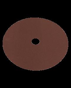 Sealey Fibre Backed Disc Ø175mm - 100Grit Pack of 25