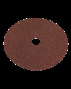 Sealey Fibre Backed Disc Ø175mm - 36Grit Pack of 25