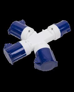 Sealey 3-Way Splitter 230V
