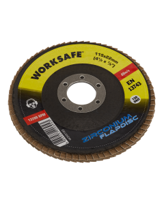Sealey Zirconium Flap Disc Ø115mm 120Grit - Pack of 10
