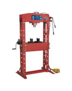 Sealey Air/Hydraulic Press 50tonne Floor Type with Foot Pedal