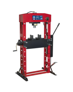 Sealey Hydraulic Press Premier 50tonne Floor Type with Foot Pedal