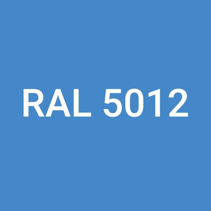 Rainbow RAL Coloured Silicone, RAL 5012 Light Blue