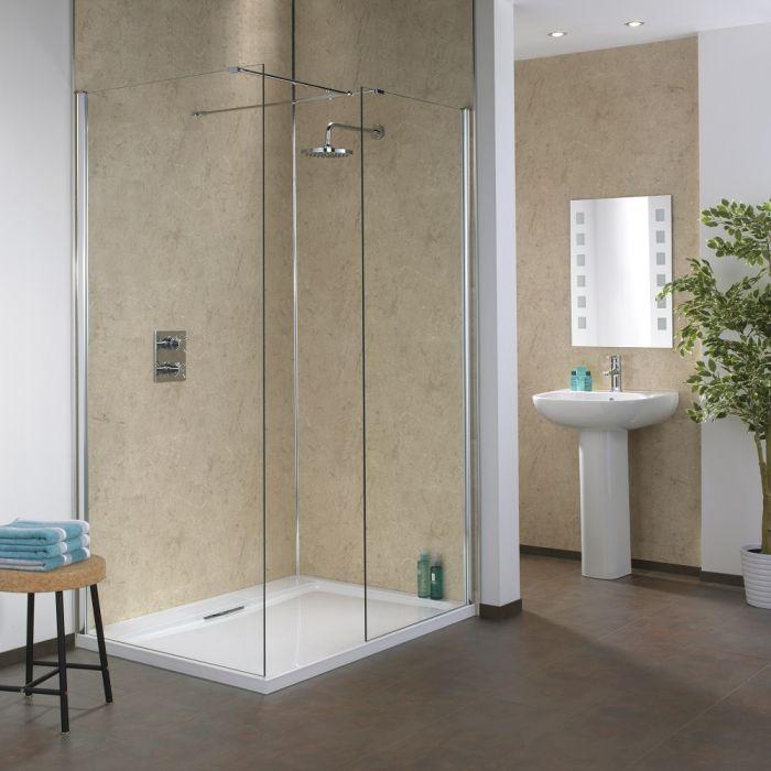 Splashpanel Shower Wall Panels, Waterproof Wall Covering For Bathrooms