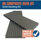 AB Full Solid Composite Decking Kit