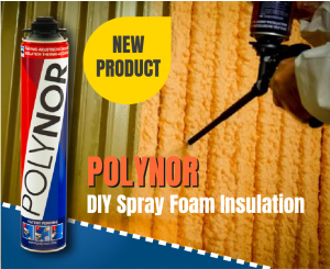 Polynor DIY Spray Foam Insulation Cans