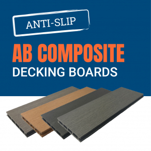 AB Composite Decking Boards and Tiles