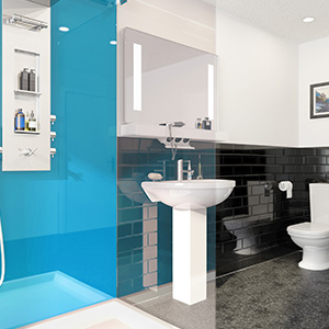 Bathrooms and wetrooms Multipanel