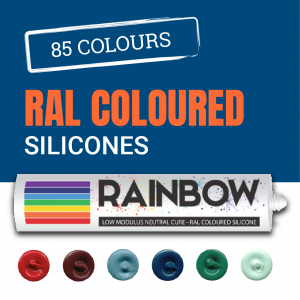 Rainbow RAL Matched Coloured Silicone Sealants