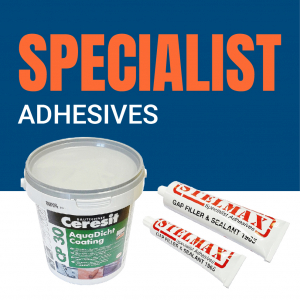 AB Building Products - Specialist Adhesives, Silicone, Sealant & Mastics Range