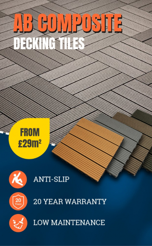 AB Composite Decking Tiles