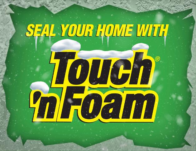 DIY Spray Foam Insualtion Kits by Touch 'n Foam