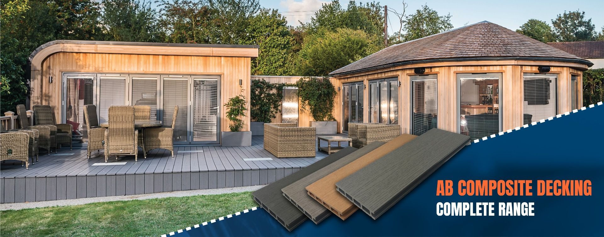 AB Building Products Composite Decking Range