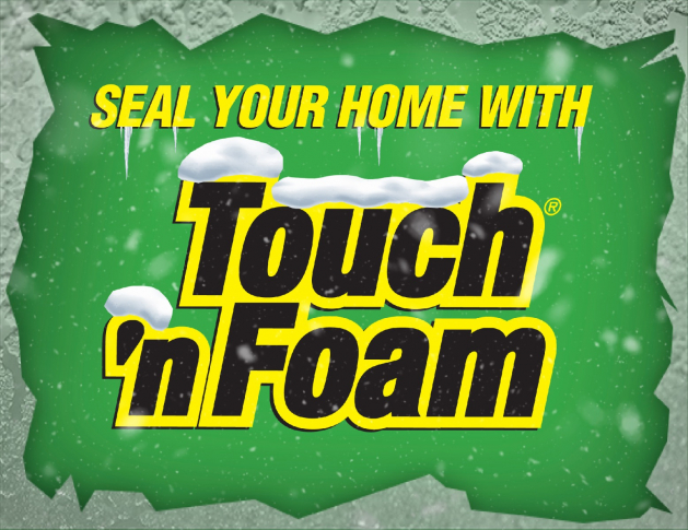 DIY Spray Foam Insualtion Kits by Touch 'n Foam